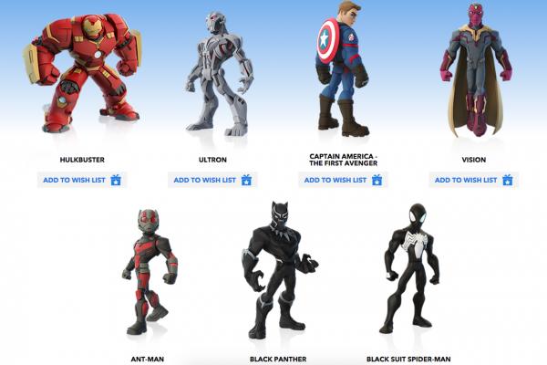 《迪士尼:无限3》新漫威超级英雄包仍缺女性新英雄