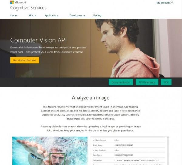 微软computer vision api能为wordpress图片自动生成alt文本