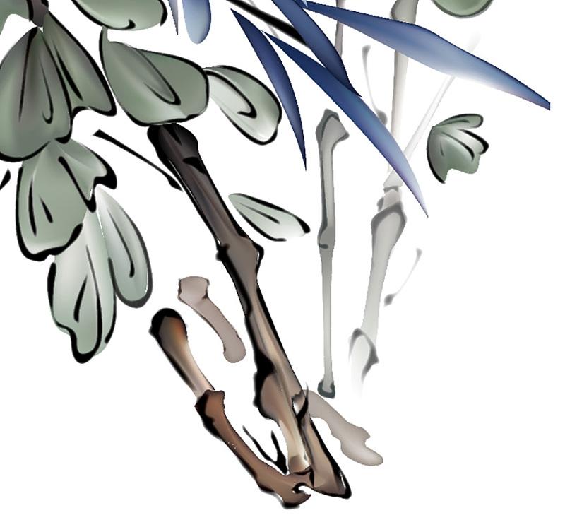 如何利用网格工具绘画国画牡丹 by 嶌翴