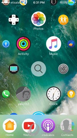 主屏幕壁纸 可爱 苹果