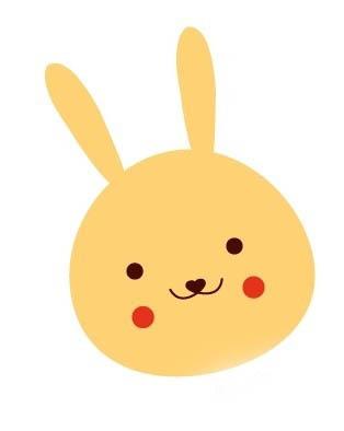 如何用ai绘制一只可爱的卡通小兔子