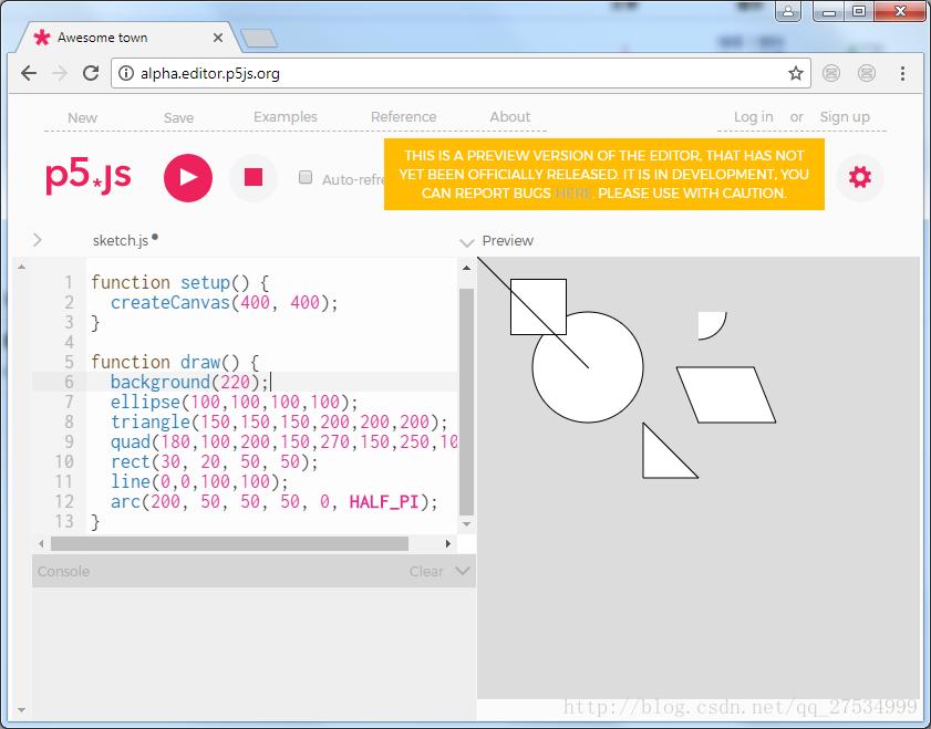 p5 js入門教程和基本形狀繪製- IT閱讀
