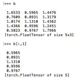 pytorch中tensor的合併與擷取方法- IT閱讀